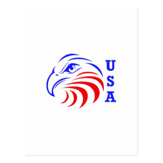 EAGLE HEAD USA POSTCARD