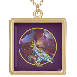 Eagle - Heavenly Wanderer № 12 Gold Plated Necklace