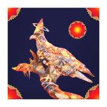 Eagle - Heavenly Wanderer № 1 Stretched Canvas Prints
