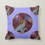 Eagle - Heavenly Wanderer № 21 Throw Pillows