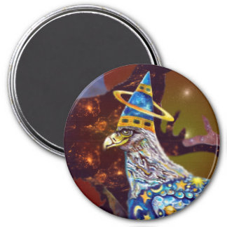 Eagle - Heavenly Wanderer № 30 3 Inch Round Magnet