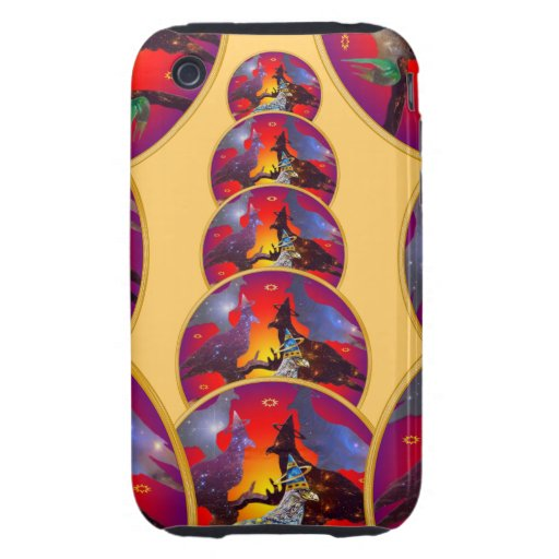 Eagle - Heavenly Wanderer № 32 Tough iPhone 3 Covers