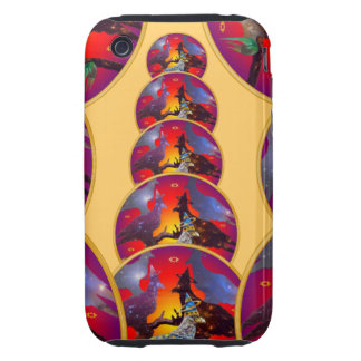Eagle - Heavenly Wanderer № 32 iPhone 3 Tough Covers