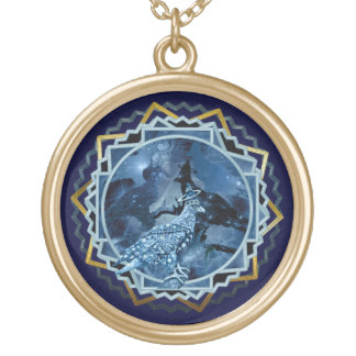 Eagle - Heavenly Wanderer № 4 Gold Plated Necklace