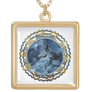 Eagle - Heavenly Wanderer № 5 Gold Plated Necklace
