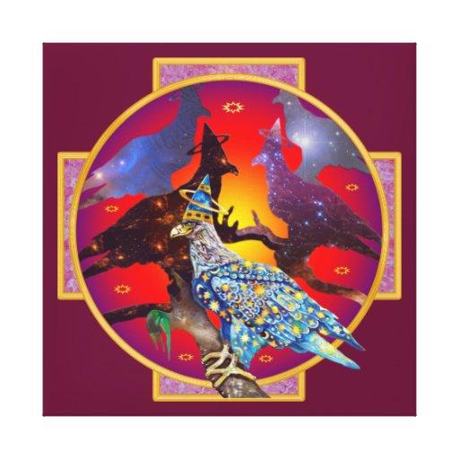 Eagle - Heavenly Wanderer № 6 Canvas Prints