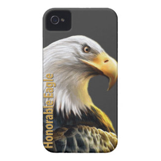 Eagle honorable Case-Mate iPhone 4 protectores