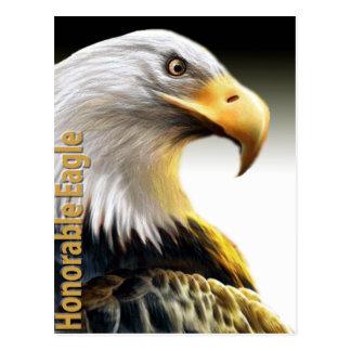 Eagle honorable tarjetas postales