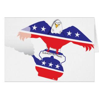 Eagle I and Teapot Card