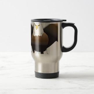 Eagle I large Coffee Mugs