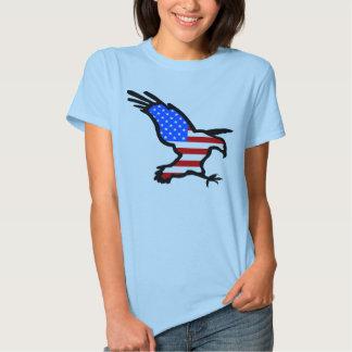 Eagle in Flag design T-shirt