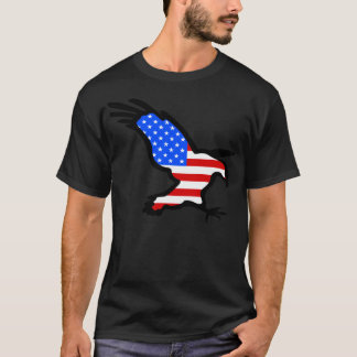 Eagle in Flag design T-Shirt