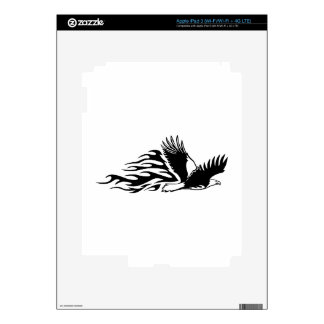Eagle in Flames Decals For iPad 3