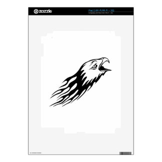 Eagle in Flames iPad 2 Skins
