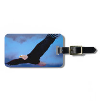 Eagle in Flight Bag Tag