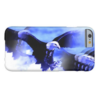 Eagle in Flight Blue White iPhone 6 Case