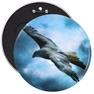 Eagle in flight buttons