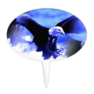 Eagle in Flight Cake Topper