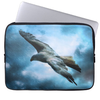 Eagle in flight computer sleeve