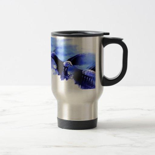 Eagle in Flight Mug