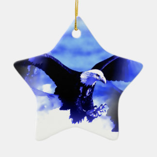 Eagle in Flight Christmas Tree Ornaments