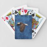 EAGLE IN FLIGHT POKER CARDS
