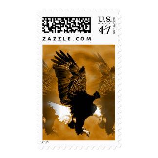 Eagle in Flight Postage