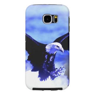 Eagle in Flight Samsung Galaxy S6 Cases