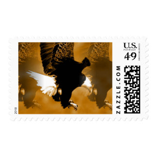 Eagle in Flight Stamps