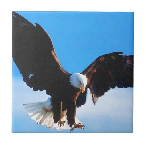 Eagle in Flight Tile