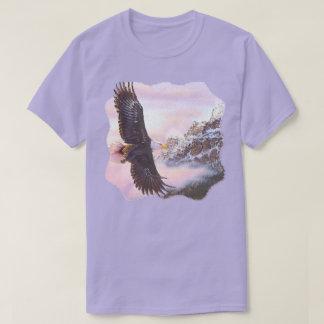 Eagle in Mist (Bird of Prey) Unisex T-shirt