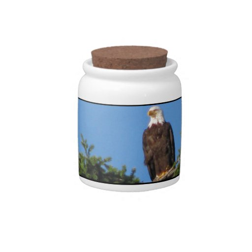 Eagle In Tree Candy Dishes