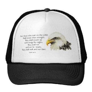 Eagle - inspirado - escritura - ellos esa espera gorro de camionero