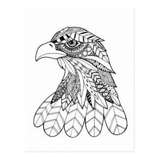 Eagle inspirado postal