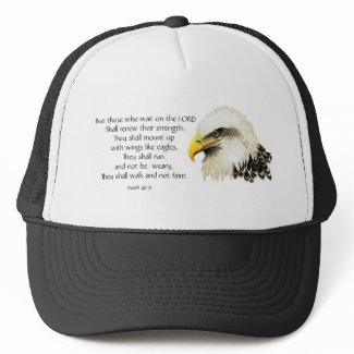 Eagle - Inspirational - Scripture - They that wait hat