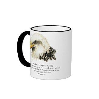 Eagle - Inspirational - Scripture - They that wait mug