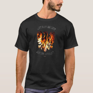 Eagle into flames T-Shirt