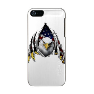 Eagle iPhone 5/5s Feather® Shine, Gunmetal Metallic Phone Case For iPhone SE/5/5s