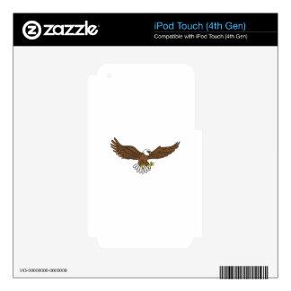 Eagle iPod Touch 4G Calcomanías