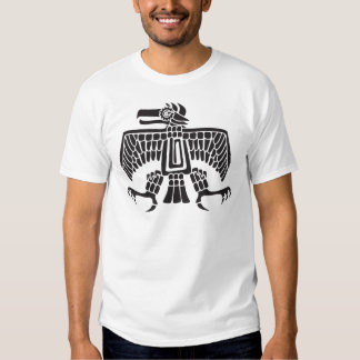 Eagle, jeroglífico mexicano (maya) playeras