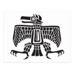Eagle, jeroglífico mexicano (maya) tarjeta postal