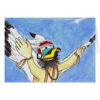 Eagle Kachina Card
