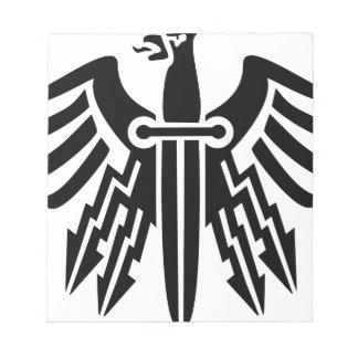 Eagle Knife Notepad