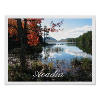 Eagle Lake, Acadia National Park, Maine Poster