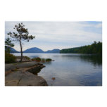 Eagle Lake at Acadia National Park Poster