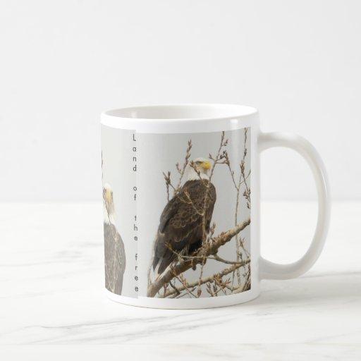 Eagle  Land of  the free Coffee Mug