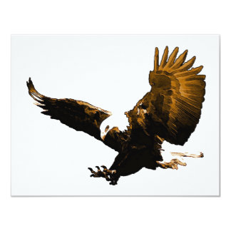 Eagle Landing 4.25x5.5 Paper Invitation Card