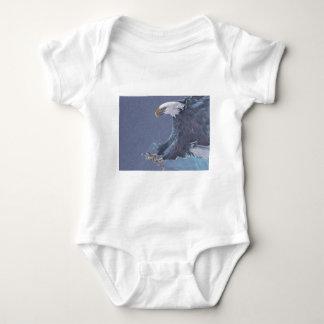Eagle Landing Baby Bodysuit