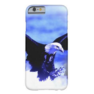 Eagle Landing Blue Color Tones iPhone 6 Case