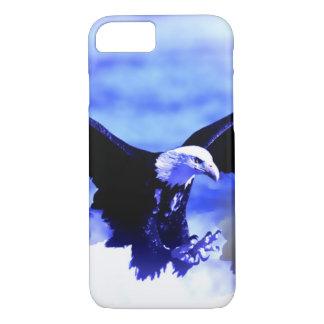 Eagle Landing Blue Color Tones iPhone 7 Case